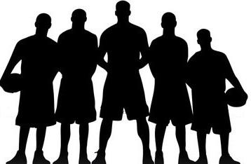 Basketball Silhouette.