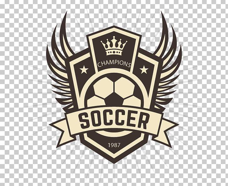 Logo Football Team PNG, Clipart, Badge, Ball, Brand, Crown.