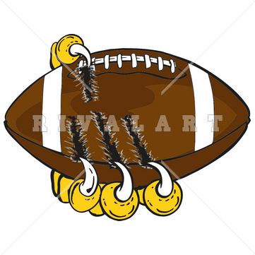 Tiger Football Clip Art.
