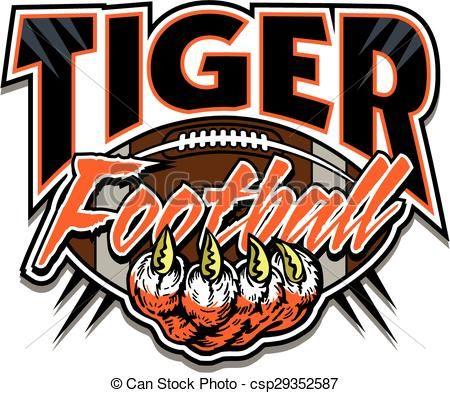 17 Best images about TIGER FOOTBALL CLIPART DESIGNS on Pinterest.