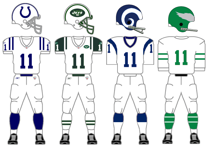 Football Uniform Cliparts.