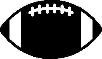 Football Outline Vector.