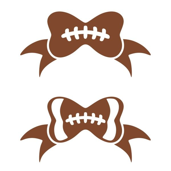Bows clipart football, Bows football Transparent FREE for.
