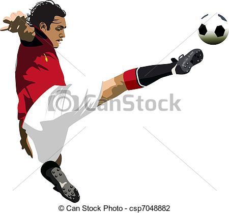 Footballer Clipart and Stock Illustrations. 88,441 Footballer.