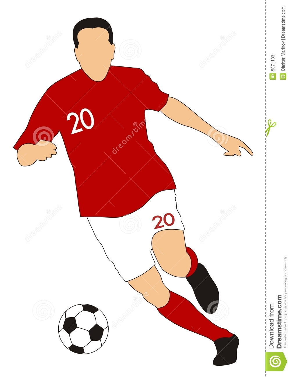 Footballer clipart 20 free Cliparts | Download images on ...