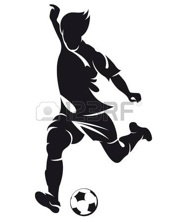 3,816 Footballer Cliparts, Stock Vector And Royalty Free.