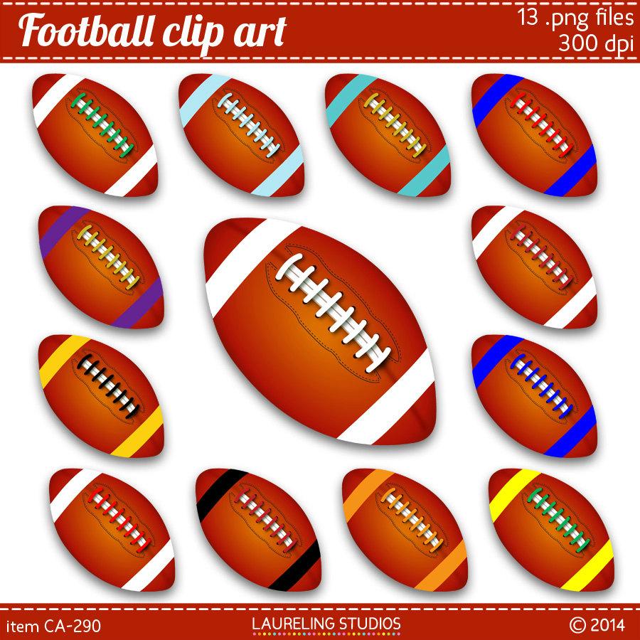 College Football Team Clipart.