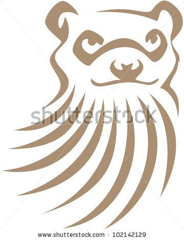 Black Footed Ferret Stock Vectors & Vector Clip Art.