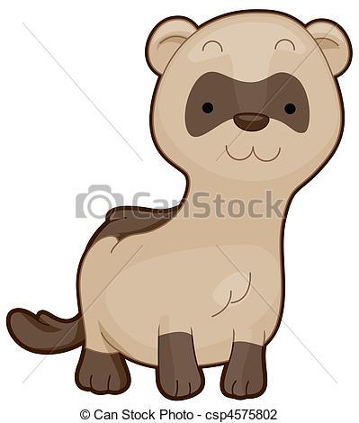 Black footed ferret Illustrations and Stock Art. 51 Black footed.