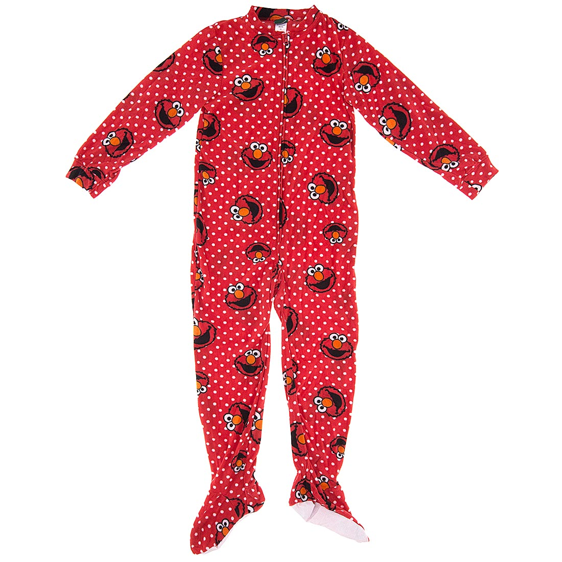 Elmo Footed Pajamas For Women Clipart.