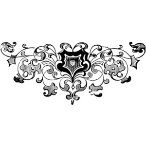 Decorative Footer Clipart.