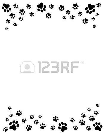 Tiny reptile clipart for header and footer border.