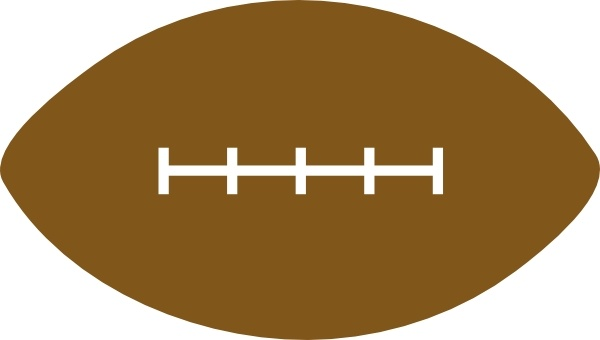 Football clipart vector free.