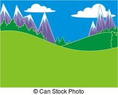 Gallery For > Mountain Meadow Clipart.
