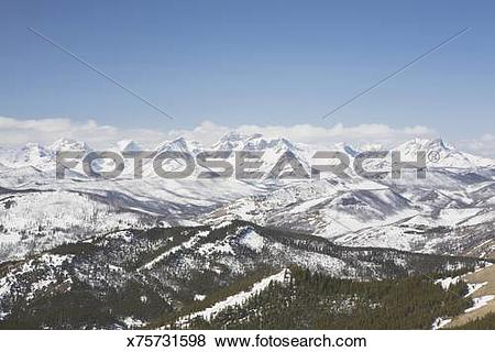 Pictures of View Of The Front Range Mountains And The Foothills.