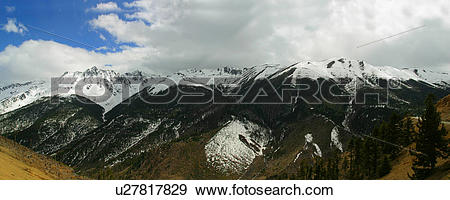 Stock Photograph of Foothills of the Himalayas in Yunnan Province.