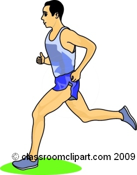 Jogging Clipart Page 1.