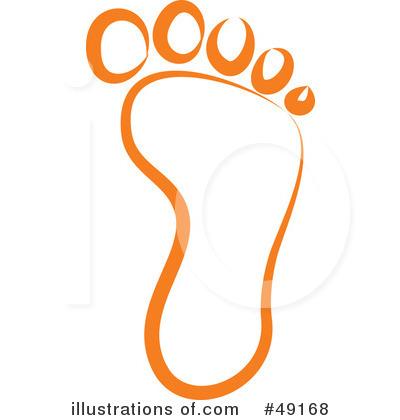 Footprint Clipart #49168.
