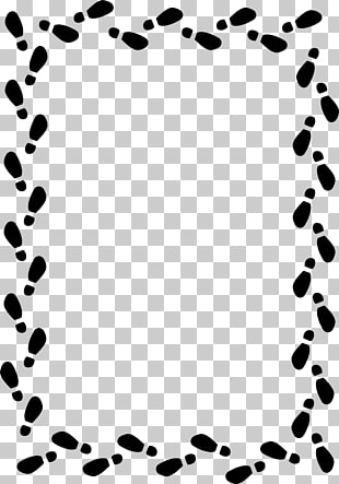 Shoe Sneakers Footprint , Golf Border s PNG clipart.