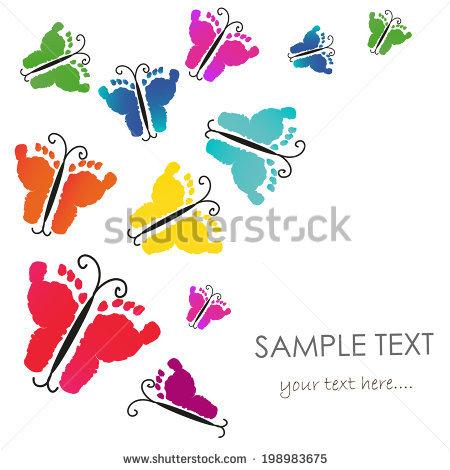 Baby Footprints Banque d'Image Libre de Droit, Photos, Vecteurs et.