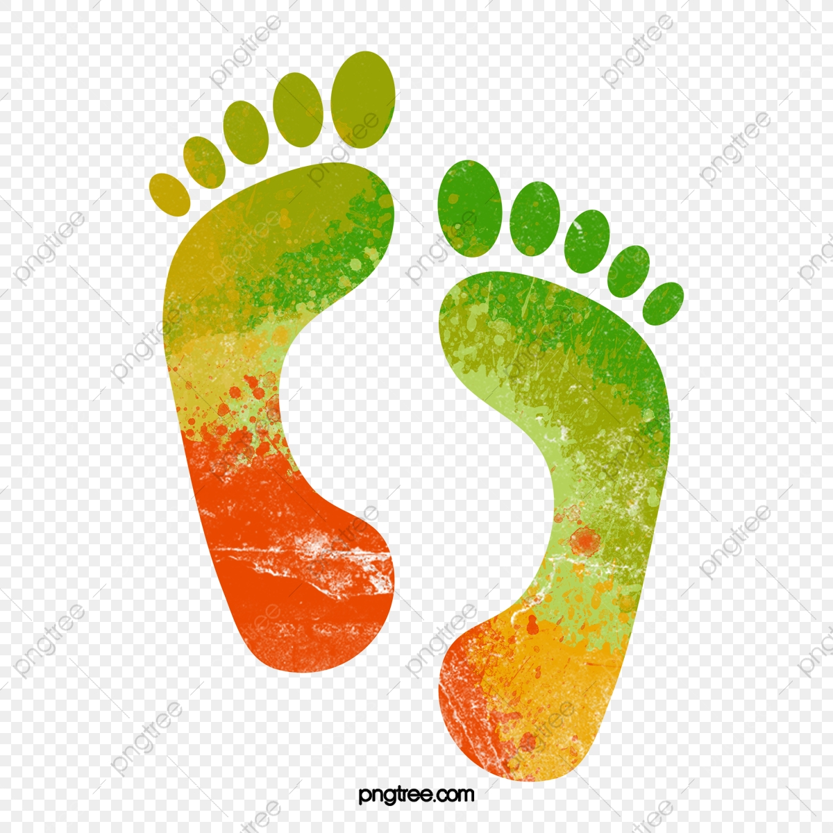 Footprint, Footprint Vector, Brush PNG and Vector with Transparent.