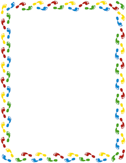 Free Footprint Border Cliparts, Download Free Clip Art, Free.