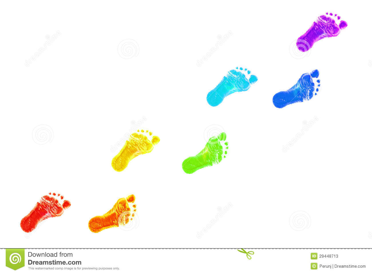 Clip art foot prints.