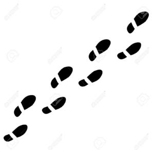 Shoe Footprints.