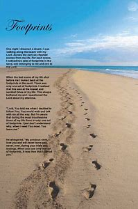 Best Footprints in the Sand.