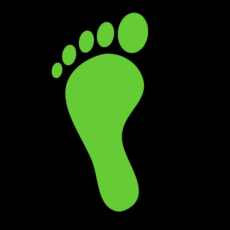 A foot clipart.