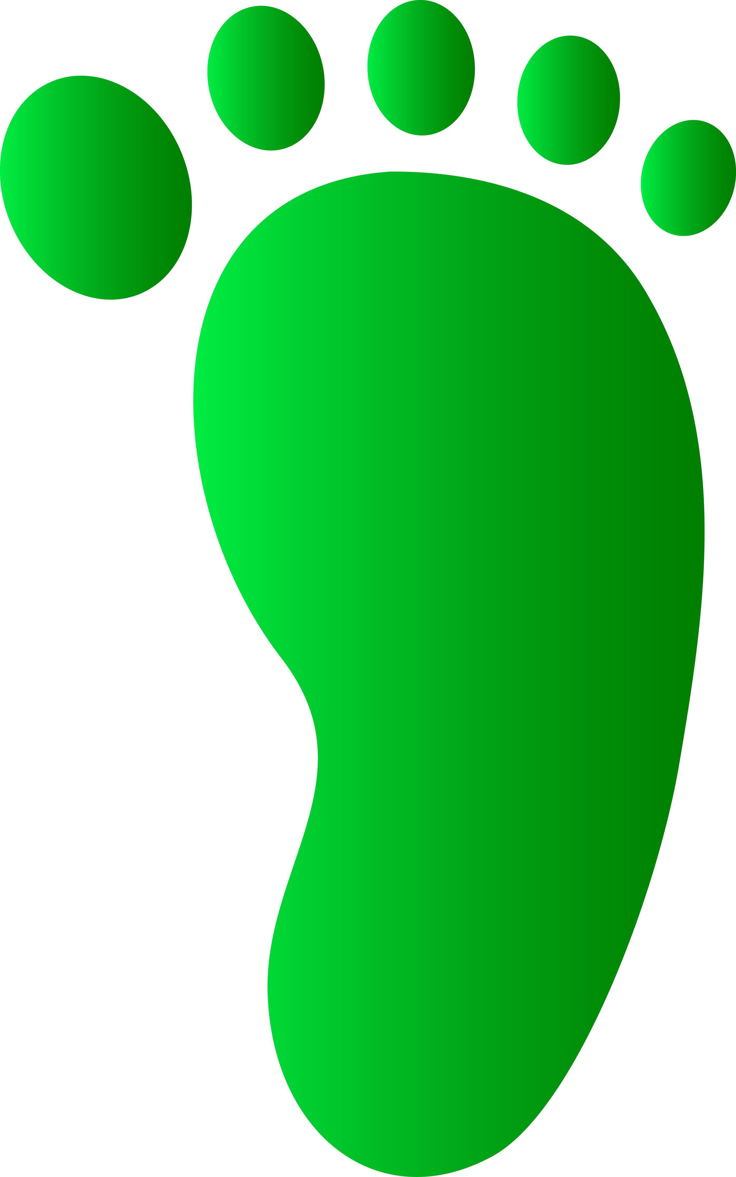 Footstep Clipart.