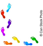 Footsteps Clipart and Stock Illustrations. 3,549 Footsteps vector.