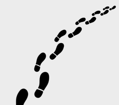 Footsteps PNG.