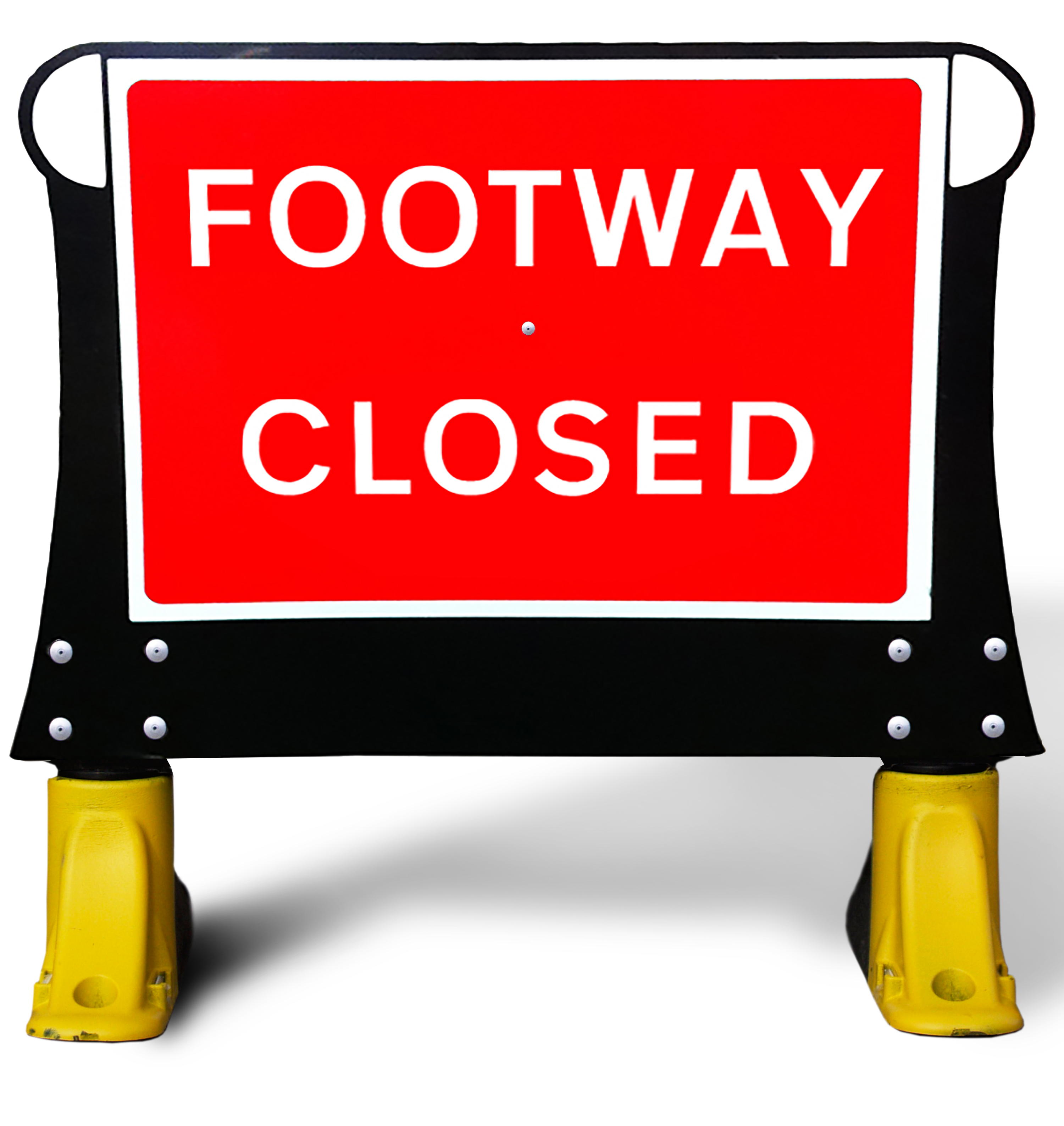 Footway Closed X.