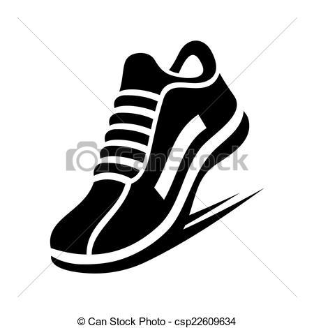 Running Shoe Clipart & Running Shoe Clip Art Images.