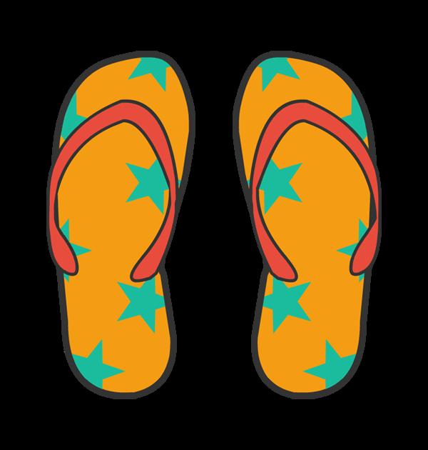 Footwear Clipart.