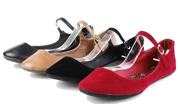 Flat Shoes PNG Transparent Images.