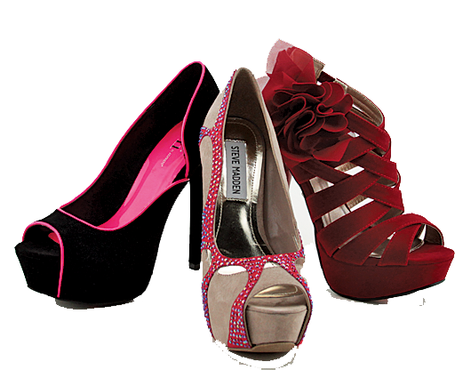 Female Shoes PNG Free Download.