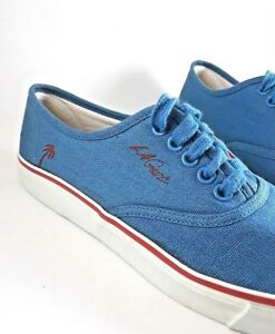 Details about Vintage LA Gear size 6 Youth Girls Blue Tennis Shoes with  Palm Tree Logo.