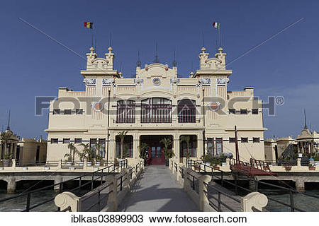 "Stock Photo of ""Antico Stabilimento Balneare Spa Hotel, 1912."