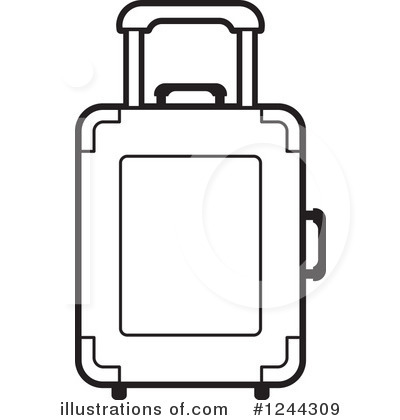 Luggage Clipart #1244309.