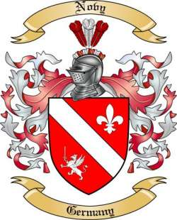 Novy Family Crest from Germany by The Tree Maker.