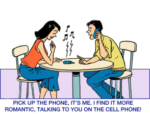For God's sake put your phone down ….