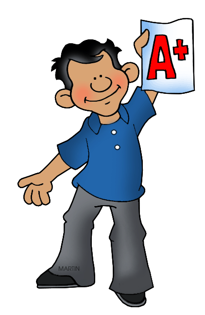 Free School Clip Art by Phillip Martin, Honor Roll.