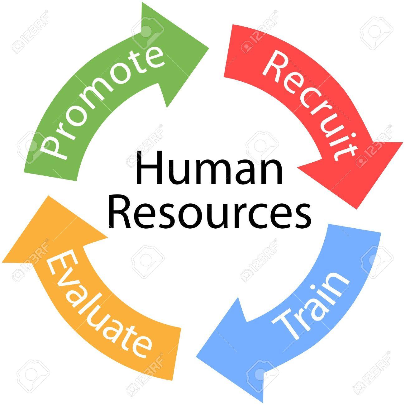 Enterprise Human Resources Arrows Are The Recruit Train Evaluate.