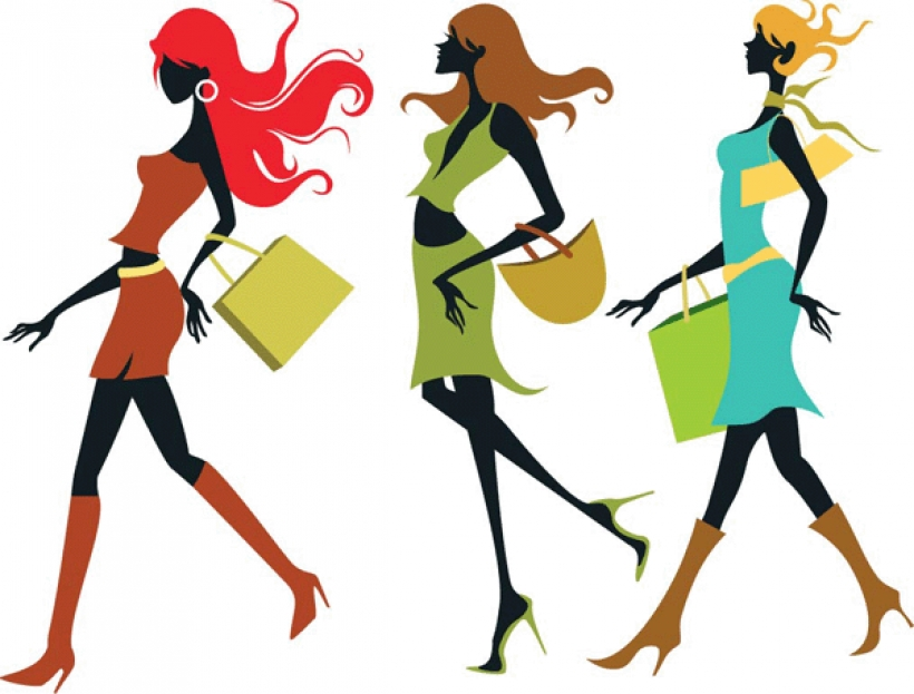ladies fashion clipart clipart panda free clipart images with.