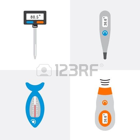 714 Electronic Measuring Stock Vector Illustration And Royalty.