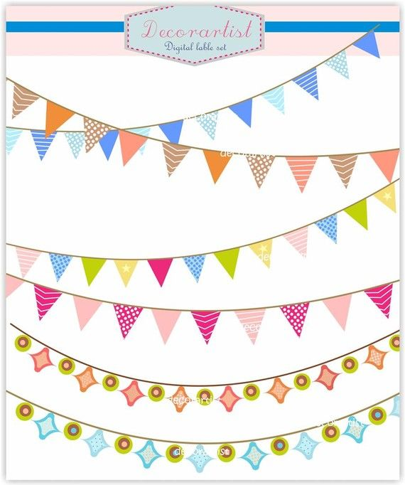 Banner clip art. flag banner holiday craft banners by.