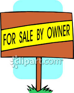 A For Sale By Owner Sign.