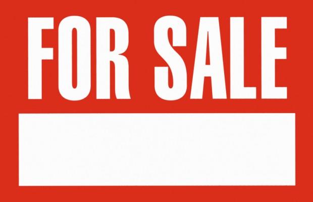 Clip art for sale sign.